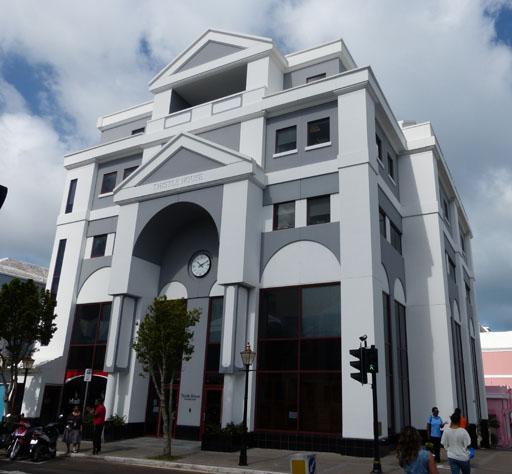 4 Burnaby Street Hamilton Bermuda Commercial For Rent