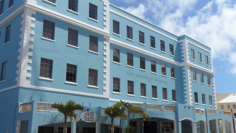 Commercial pour l à louer à Belvedere Building 4th Floor Pembroke Parish, Bermuda