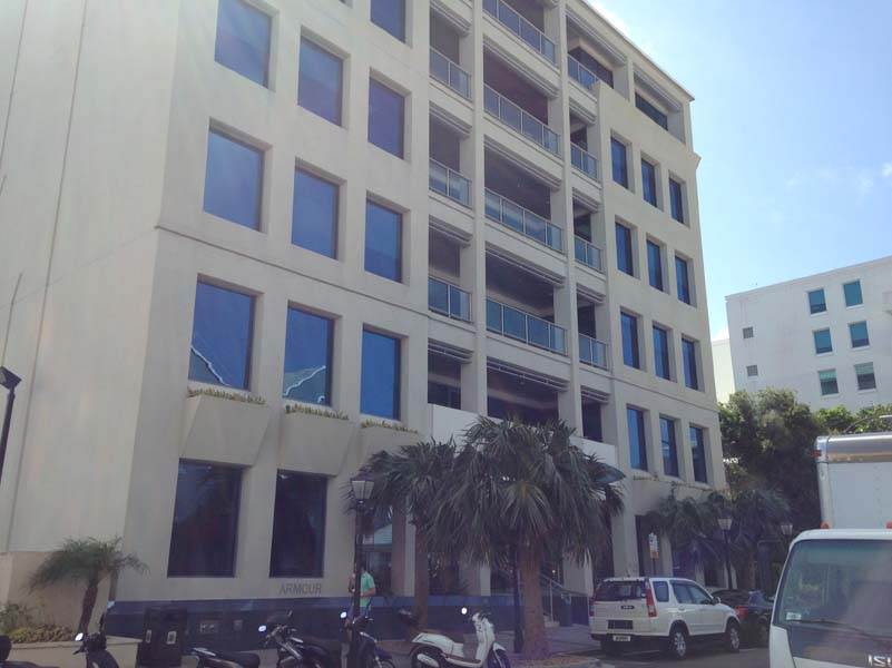 Commercial for Rent at Bermuda Commercial Bank Building GF Hamilton, Bermuda