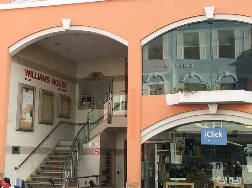Commercial for Rent at Williams House 1st Floor Middle 20 Reid Street Hamilton, HM 11 Bermuda