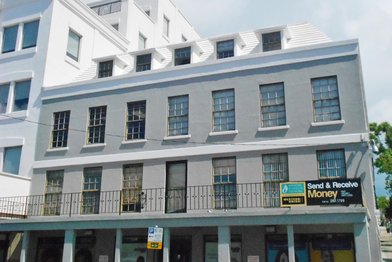Commercial for Rent at British American Building - Office 1 Hamilton, Bermuda