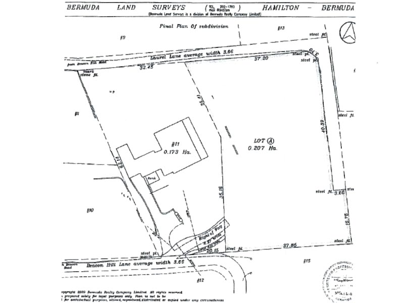 Additional photo for property listing at Beacon Hill Lane Lot A Beacon Hill Lane   Sandys Parish, MA 02 Bermuda
